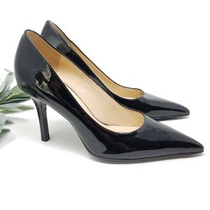COLE HAAN Patent Leather Pointed Heels 5.5